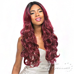 Sensationnel Synthetic Hair Empress Swiss Lace Wig - MARYAM (4X4 Silk Based Lace)