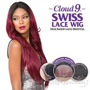 Sensationnel Human Hair Blend Cloud 9 Silk Based Swiss Lace Frontal Wig - MATILDA  (futura)