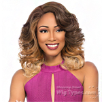 Sensationnel Synthetic Hair Empress Natural Curved Part Lace Front Wig - NOVA (futura)