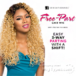 Sensationnel Synthetic Hair Empress 3 Way Free Part Lace Wig - PANSY (futura)