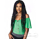 Sensationnel Cloud 9 Synthetic Hair 4x4 Lace Parting Swiss Lace Wig - PASSION TWIST 28