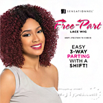 Sensationnel Synthetic Hair Empress 3 Way Free Part Lace Wig - PEONY (futura)