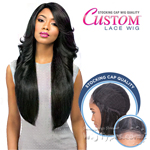 Sensationnel Stocking Cap Quality Custom Lace Wig - PERM WEDGE (hand-tied Part W/ Multiple Parting Option)