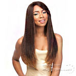 Sensationnel Synthetic Hair Empress Natural Curved Part Lace Front Wig - PIPA (futura)