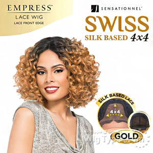 Sensationnel Synthetic Hair Empress Swiss Lace Wig - PORSHA (4X4 Silk Based Lace)