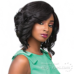 Sensationnel Synthetic Hair Empress Natural Curved Part Lace Front Wig - ROXY
