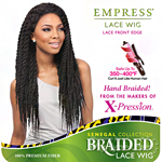 Sensationnel Synthetic Hair Empress Braided Lace Wig - SENEGAL LOCKS BRAIDS