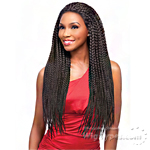Sensationnel Synthetic Hair Empress Braided Lace Wig - SENEGAL MAXI BRAID