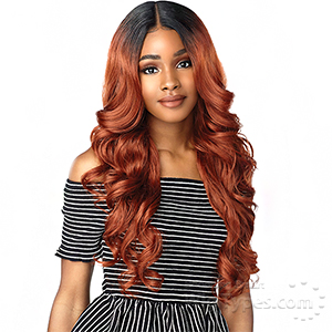 Sensationnel Synthetic Hair Empress Natural Deep Part Lace Front Wig - ZANIYA