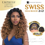 Sensationnel Synthetic Hair Empress Swiss Lace Wig - TEYANA (4X4 Silk Based Lace)