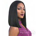 Sensationnel Synthetic Hair Empress Natural Center Part Lace Front Wig - TIARA (futura)