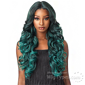 Sensationnel Synthetic Hair Empress Natural Center Part Lace Front Wig - TRISSA