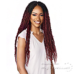Sensationnel Lulutress Synthetic Braid - 2X SKINNY PASSION TWIST 24