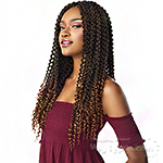 Sensationnel Lulutress Synthetic Braid - 3X 3D PASSION TWIST 18