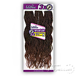 Sensationnel Lulutress Synthetic Braid - 3X WAVY SENEGAL TWIST 18