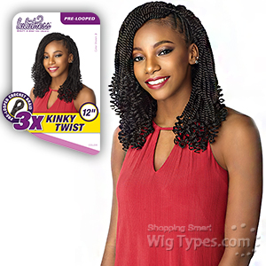Sensationnel Lulutress Synthetic Braid - 3X KINKY TWIST 12