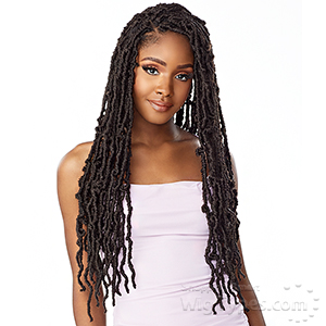 Sensationnel Lulutress Synthetic Braid - 3X DISTRESSED LOCS 24