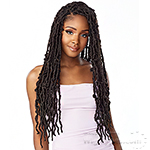 Sensationnel Lulutress Synthetic Braid - 3X DISTRESSED LOCS 18