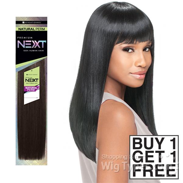 Sensationnel 100 Human Hair Weave Next Natural Perm Yaki 1 Get