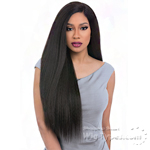 Sensationnel Human Blend Weaving Premium Too Boutique Bundle - BOUTIQUE KINKY STRAIGHT (18/20/22 + Lace Closure)