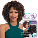 Sensationnel Human Blend Weaving Premium Too Shorty - DELUXE CURL WVG 9 (3 pcs)