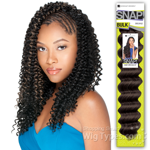 Crochet Hair In Bulk : Crochet Braids Bohemian Bulk Hair
