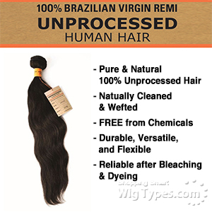 Sensationnel 100% Unprocessed Human Hair - Natural Wavy 16