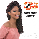 Sensationnel Synthetic Braid - 3X FAUX LOCS CURLY 12 (triple pack value)