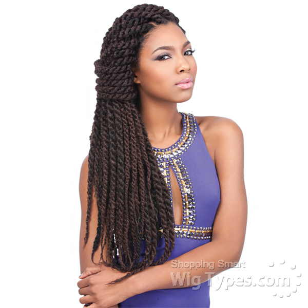 Crochet Braids Jamaican Twist Hair : sensationnel synthetic braid - jamaican locks 44 - WigTypes.com