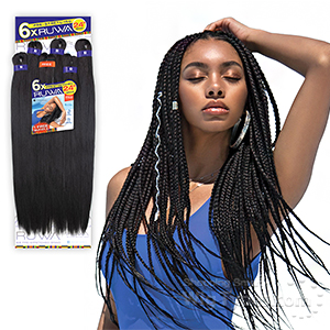 Sensationnel Synthetic Braid - SB 6X RUWA PRE-STRETCHED BRAID 24
