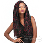 Sensationnel Synthetic Braid - SUPER REGGAE BRAID