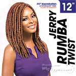 Sensationnel Synthetic Braid - JERRY RUMBA TWIST 12