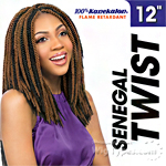 Sensationnel Synthetic Braid - SENEGAL TWIST 12