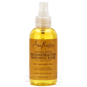 Shea Moisture Raw Shea Butter Reconstructive Finishing Elixir 4oz