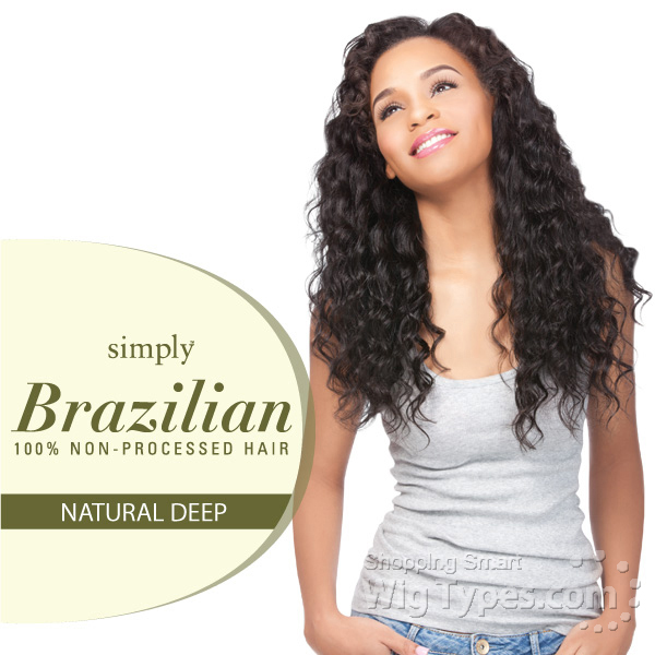 Outre Simply 100 Non Processed Brazilian Virgin Remy Human Hair Weave Natural Deep