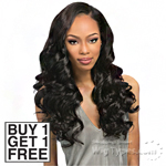 Outre Simply 100% Non-processed Brazilian Virgin Remy Human Hair Weave - NATURAL FLEXI CURL (Buy 1 Get 1 FREE)