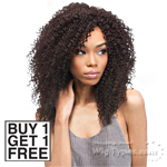 Outre Simply 100% Non-processed Brazilian Virgin Remy Human Hair Weave - NATURAL KINKY CURL (Buy 1 Get 1 FREE)