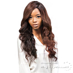 Outre Simply Perfect 7 100% Non-processed Brazilian Virgin Remy Human Hair Weave - BRAZILIAN NATURAL DEEP 7PCS (10/10/12/12/14/14+ Closure)
