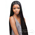 Outre Simply Perfect 7 100% Non-processed Brazilian Virgin Remy Human Hair Weave - BRAZILIAN NATURAL STRAIGHT 7PCS (18/18/20/20/22/22 + Closure)