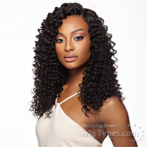 Outre Simply 100% Non-processed Brazilian Virgin Remy Human Hair Weave - PINEAPPLE WAVE 10