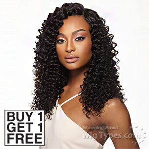 Outre Simply 100% Non-processed Brazilian Virgin Remy Human Hair Weave - PINEAPPLE WAVE 10 (Buy 1 Get 1 FREE)