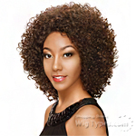 Zury Sis Synthetic Hair Invisible Top C Part Lace Wig - IV LACE H SUZANA