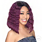 Zury Sis Hollywood Retro Synthetic Hair Lace Wig - RET LACE H SHINE