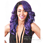 Zury Sis Synthetic Hair Swiss Lace Pre Tweezed Part Wig - SW H NIX