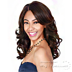 Zury Sis Synthetic Hair Swiss Lace Pre Tweezed Part Wig - SW LACE H AMRY