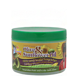 Sofn'Free N'Pretty Olive Oil & Sunflower Oil Hair and Scalp Nourisher 8oz