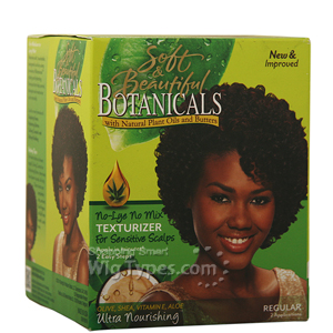 Soft & Beautiful Botanicals Ultra Nourishing No Mix Texturizer Kit - Regular