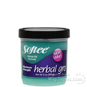 Softee Herbal Gro Herbal Oil Formula - Maximum Strength