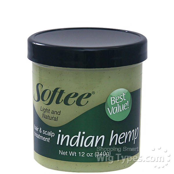 Softee Indian Hemp Hair Amp Scalp Treatment 12 Oz Wigtypes Com