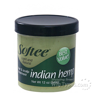Softee Indian Hemp Hair & Scalp Treatment 12oz